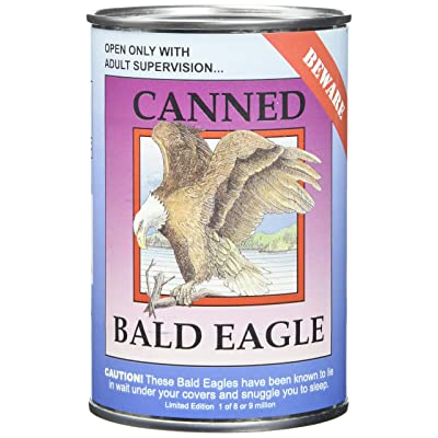 "Canned Critters Stuffed Animal: Bald Eagle 6"": Toys & Games"
