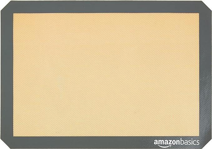 AmazonBasics - Tapete de silicona para hornear, juego de 2 ...