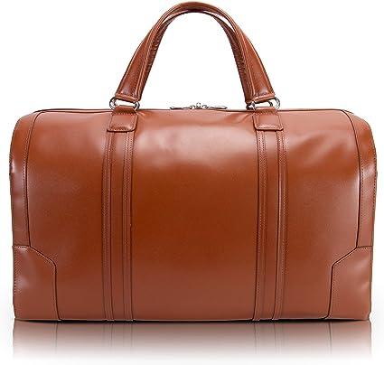 Black Leather Duffel /& Backpack Bag for Men Top Grain Leather Spacious interior