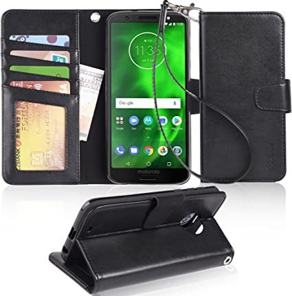 Amazon.com: Funda para Moto G6, Arae [función atril] Funda ...