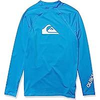 Quiksilver Boys' Big Time Long Sleeve Youth Rashguard Surf Shirt