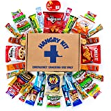 HANGRY KIT - Sweet & Salty Snack Sampler - Care Package - Gift Pack - Variety of 40 Chips, Candies & Cookies Included - 100%