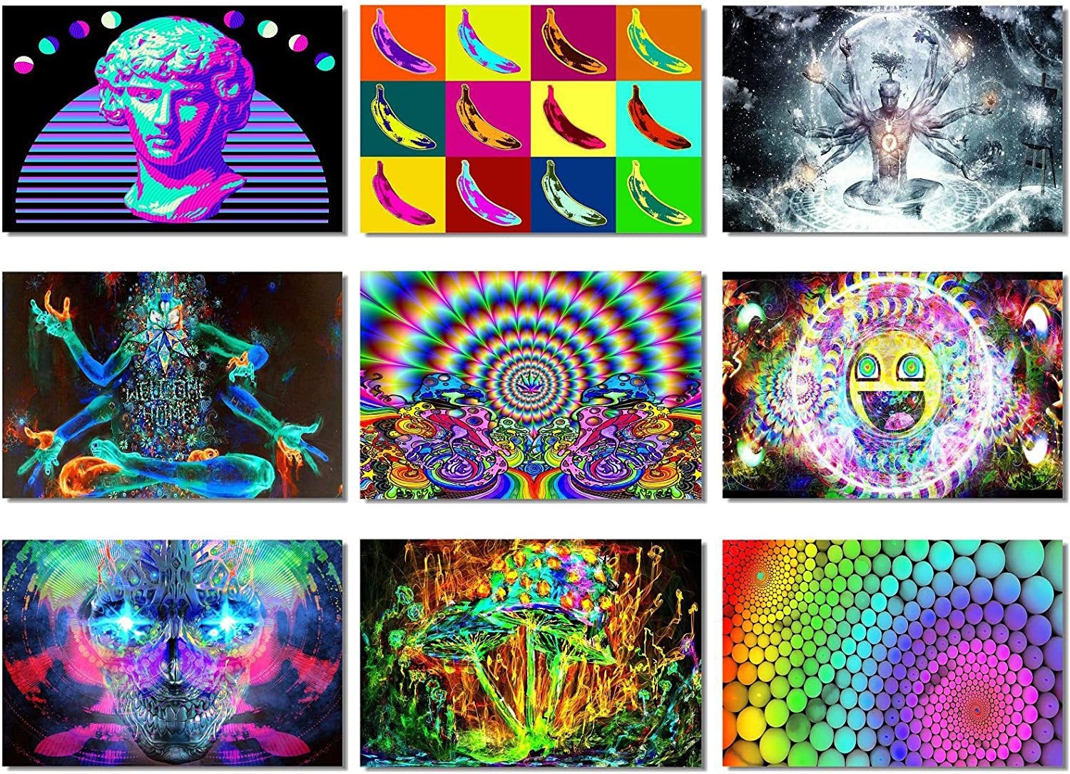 Amazon Com 9x Fabric Poster Psychedelic Trippy Colorful Trippy Surreal Abstract Astral Digital Wall Art Prints 20x13 50x33cm 1 9 Not Blacklight Posters Prints Indie drawings trippy drawings art drawings sketches easy drawings psychedelic drawings mini canvas art diy canvas trippy painting painting & drawing. 9x fabric poster psychedelic trippy colorful trippy surreal abstract astral digital wall art prints 20x13 50x33cm 1 9 not blacklight