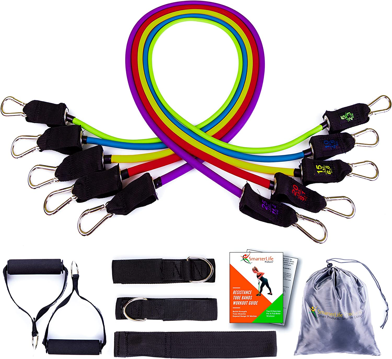 AMOYER Resistance Band Ersatzgriff Griffe Fitness Strap Yoga Exercise Equipment