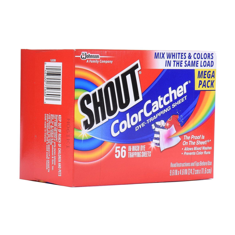 Colour catcher sheets - Amazon Com Shout Color Catcher Sheets 56 Count Health Personal Care