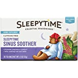 Celestial Seasonings Sleepytime Sinus Soother Wellness Tea Herbal Supplement, 20 Count