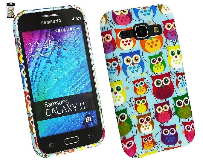 5 opinioni per Emartbuy Samsung Galaxy J1 Case Cover Custodia In Gel Gufi