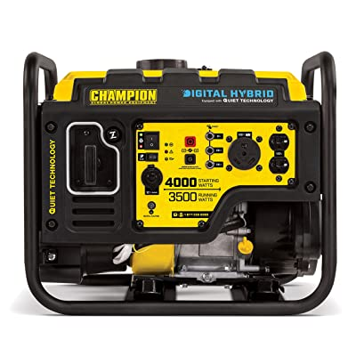 Champion 4000-Watt - Best hybrid generator