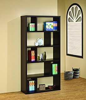 Coaster Home Furnishings 5 Tier Bookcase Cappuccino