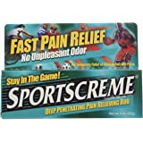 Sportscreme Topical Anagesic, Deep Penetrating Pain Relieving Rub,  3 ounces (Pack of 6)