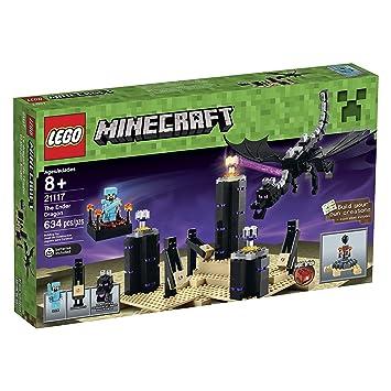 Amazon.com: LEGO Minecraft 21117 The Ender Dragon: Toys & Games