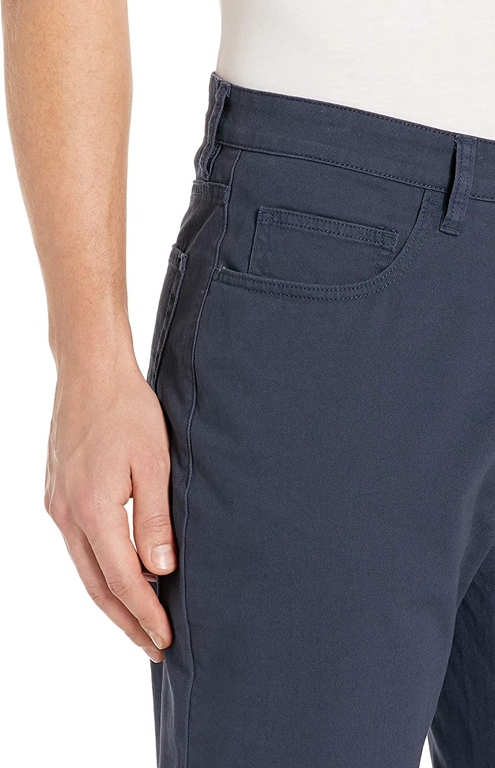 gui fang Mens Casual 5 Pants Youth Stretch Comfort Tie Shorts
