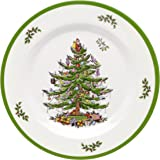 Spode Christmas Tree Melamine Salad Plate, Set of 4