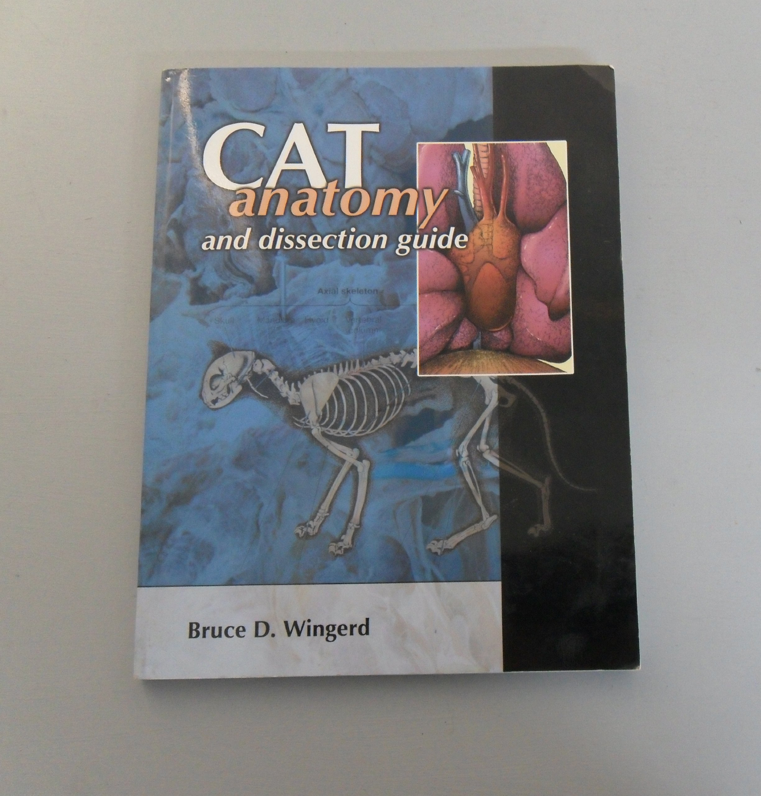 Cat Anatomy And Dissection Guide Bruce D Wingerd 9781599840000