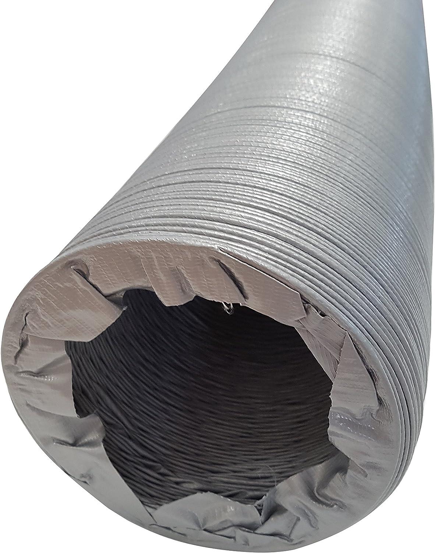 Intelmann L/üftungsschlauch /Ø 125 Klimaschlauch L/änge 10 m