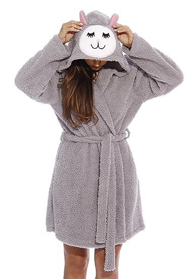 6319-Sheep-M-NEW Just Love Critter Robe / Robes for Women, Sleepy Sheep (Sherpa), Medium, Sleepy Sheep (Sherpa), Medium