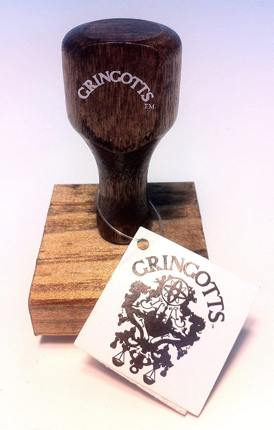 Wizarding World of Harry Potter : Gringotts Goblin Bank Rubber Stamp