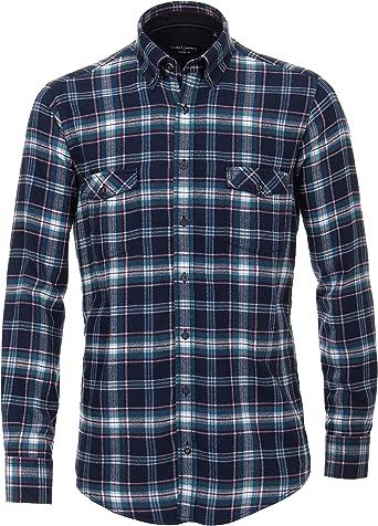 Casa Moda 483088700 - Camisa de Franela de Manga Larga para ...