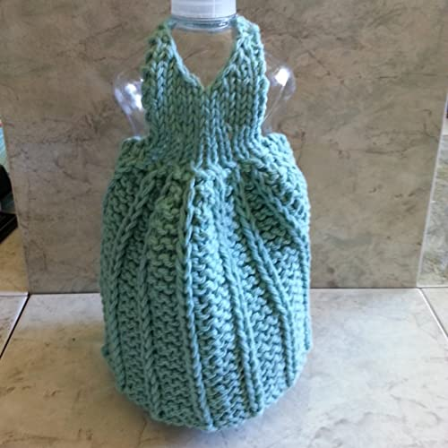 Knitted Dish Soap Dresses
