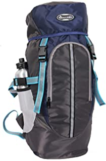 b418214936e POLE STAR Hike Grey Rucksack with RAIN Cover Trekking Hiking BAGPACK Backpack  Bag