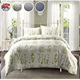 LOKATSE HOME Printed Duvet Cover Set with 1 Pillowcase Soft and Comfortable - Machine Washable (Twin/Colorful), Colorful…