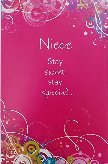Amazon niece stay sweet stay special stay bless happy niece stay sweet stay special stay bless happy birthday greeting card religious m4hsunfo