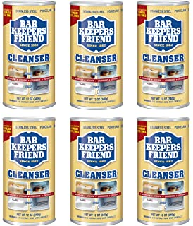 Bar Keepers Friend Powdered Cleanser & Polish 12-Ounces, Multicolor