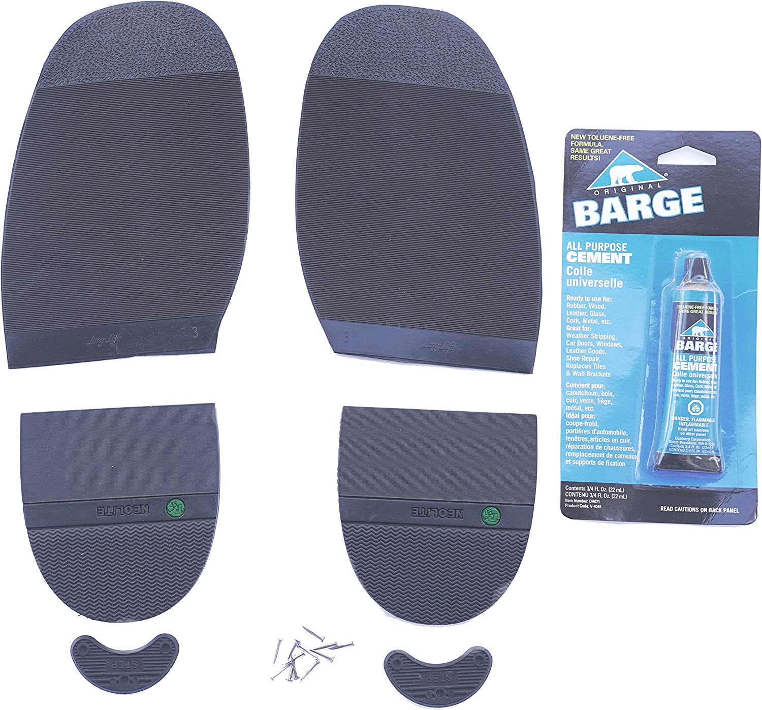 Half soles Kit for Shoes Boots Repair