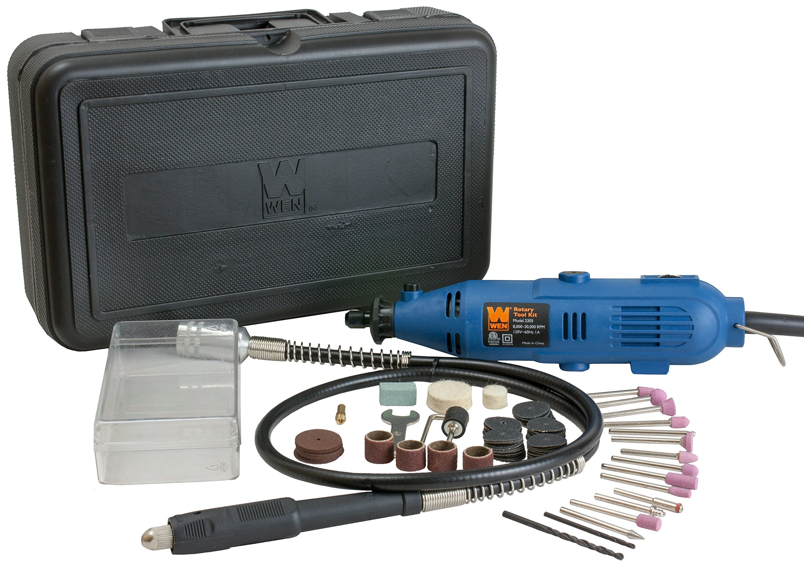 WEN 2305 Rotary Tool Kit with Flex Shaft by WEN
