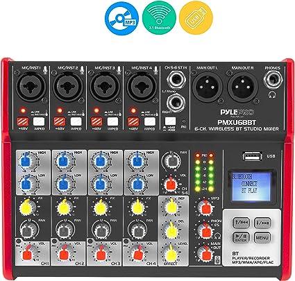 Amazon.com: Studio Audio - Mesa de mezclas, Negro: Musical ...