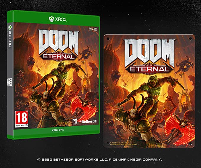 DOOM Eternal with Steel Poster (Exclusive to Amazon.co.uk) - Xbox One [Importación inglesa]