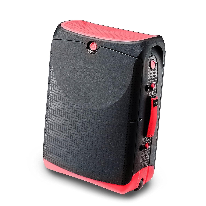 - 0502-GB01 Rouge Black and Magma Red Jurni Valise