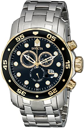 fb51c9227 Image Unavailable. Image not available for. Color: Invicta Mens Pro Diver  Scuba Swiss Chronograph ...