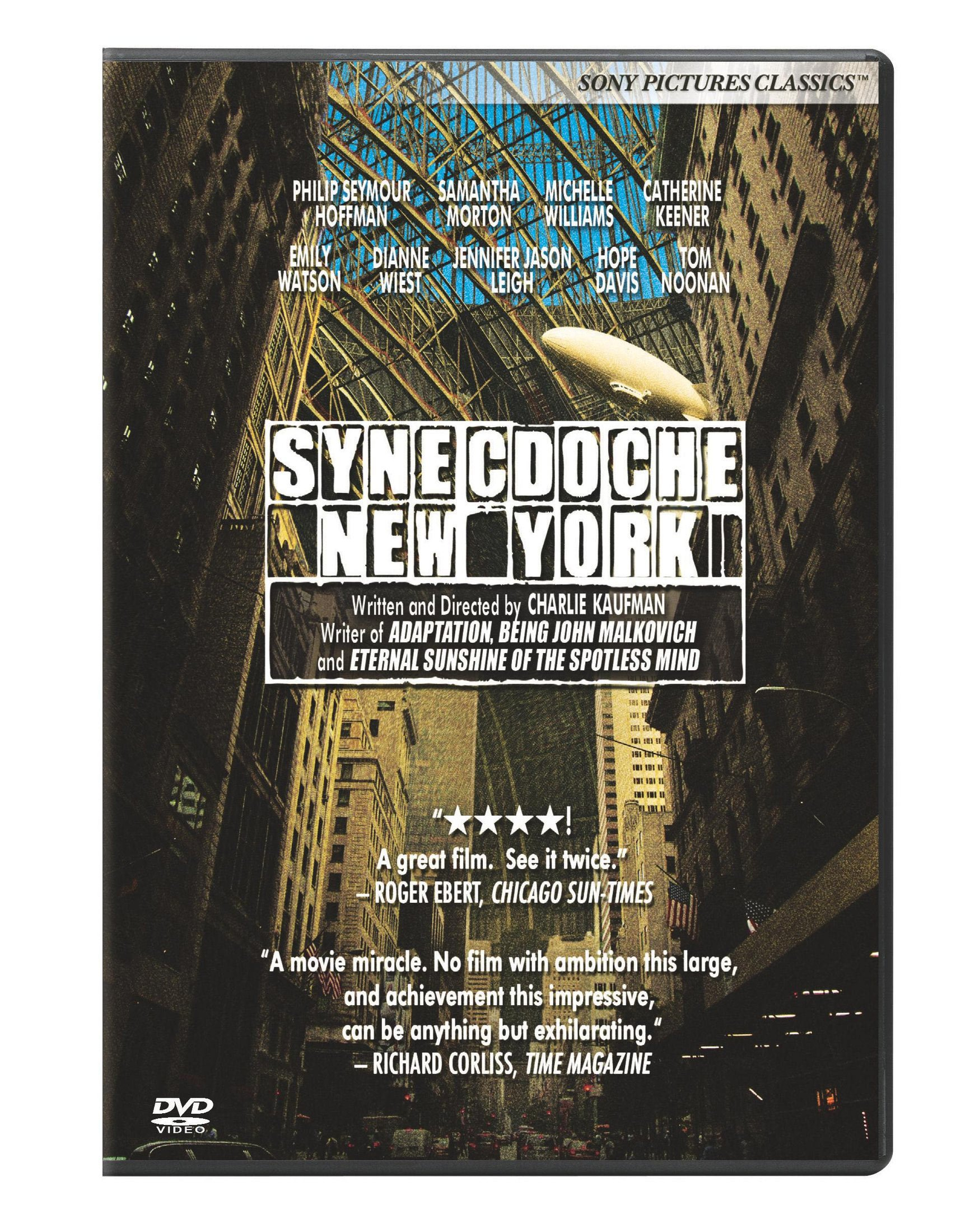 DVD : Synecdoche, New York (Widescreen, Dolby, AC-3)