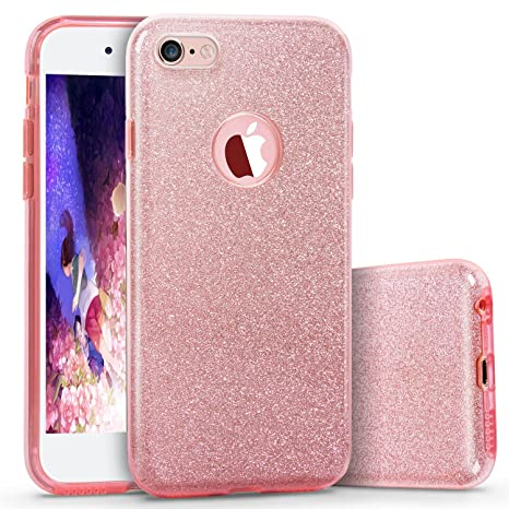 L-JUWA - Carcasa para iPhone 7 Plus (Ultrafina, 3 Capas ...