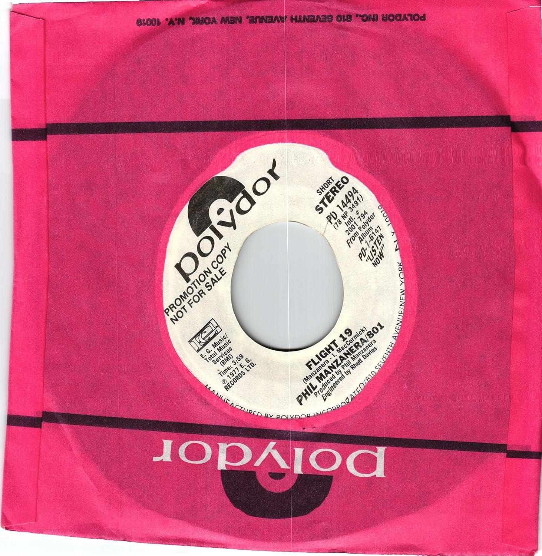 PHIL MANZANERA/801 - FLIGHT 19 / FLIGHT 19 (PROMO) - Amazon com Music