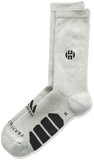Adidas Harden Gr Crew Calcetines, Hombre, Gris-(brgrin/brgros / Negro), 4951: Amazon.es: Deportes y aire libre