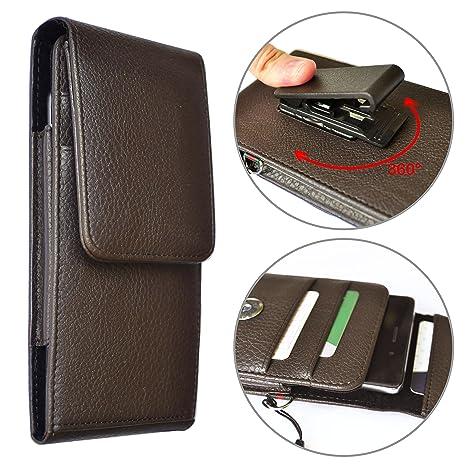 088d271402 Custodia a sacchetto per smartphone universale portafoglio Laccetto da  polso - CLIP da cintura rotabile -