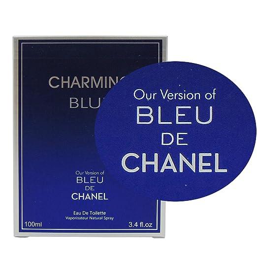 Amazon.com : CHARMING BLUE, 3.4 fl oz.Eau De Toilette Spray for Men, Perfect Gift : Beauty