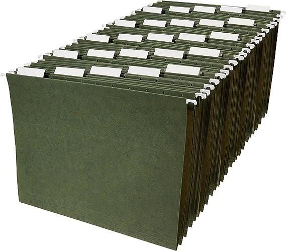 AmazonBasics Hanging Organizer File Folders - Letter Size