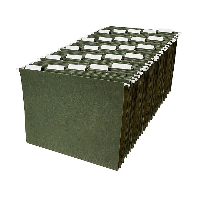 AmazonBasics Hanging File Folders - Letter Siz...