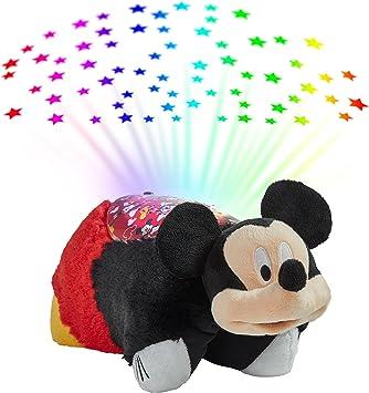 Amazon.com: Pillow Pets Disney Mickey Mouse Sleeptime Lite ...