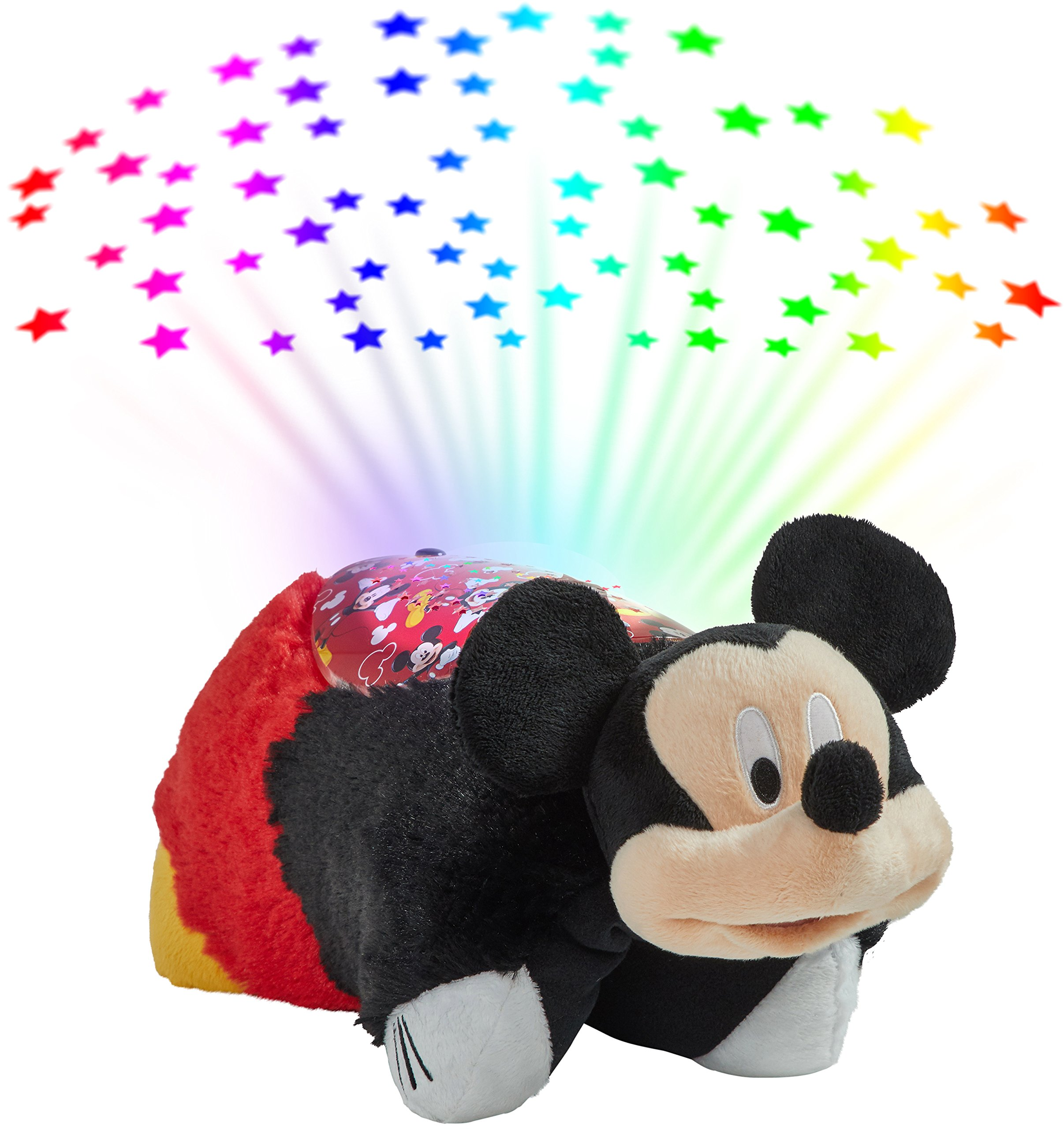 Pillow Pets Disney Mickey Mouse Sleeptime Lite Stuffed Animal Night Light by Pillow Pets