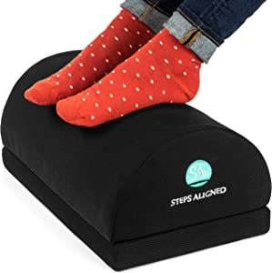 Adjustable Foot Rest Cushion- Tall Foot Rest Total Height 7.1