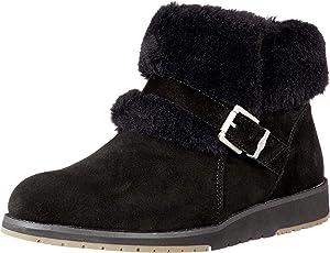 EMU Australia Womens Oxley Fur Cuff Deluxe Wool EMU Boots
