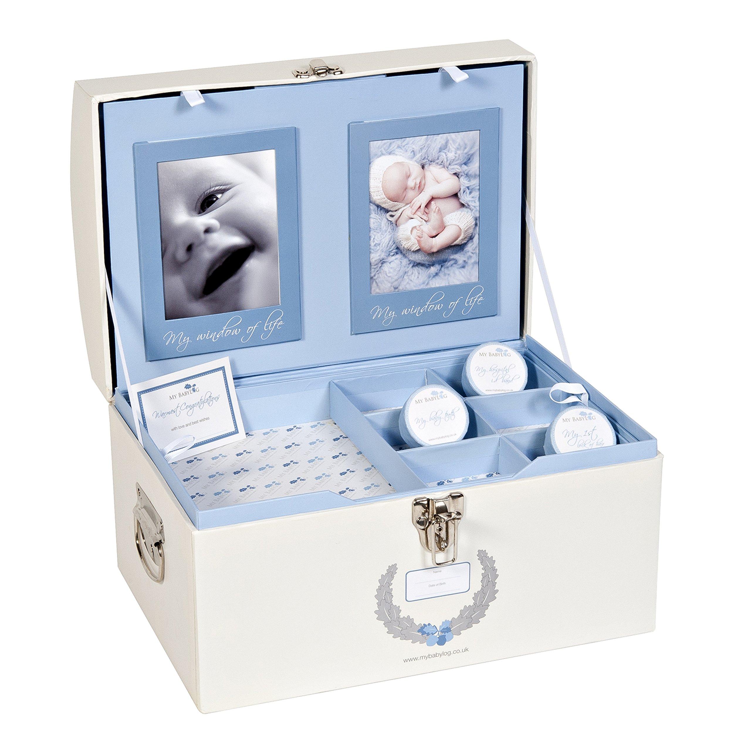 Mybabylog Baby Boys Memory Keepsake Box