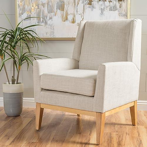 Ball Cast Accent Chair, Beige