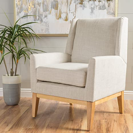 Awe Inspiring Christopher Knight Home 299398 Aural Arm Chair Beige Cjindustries Chair Design For Home Cjindustriesco
