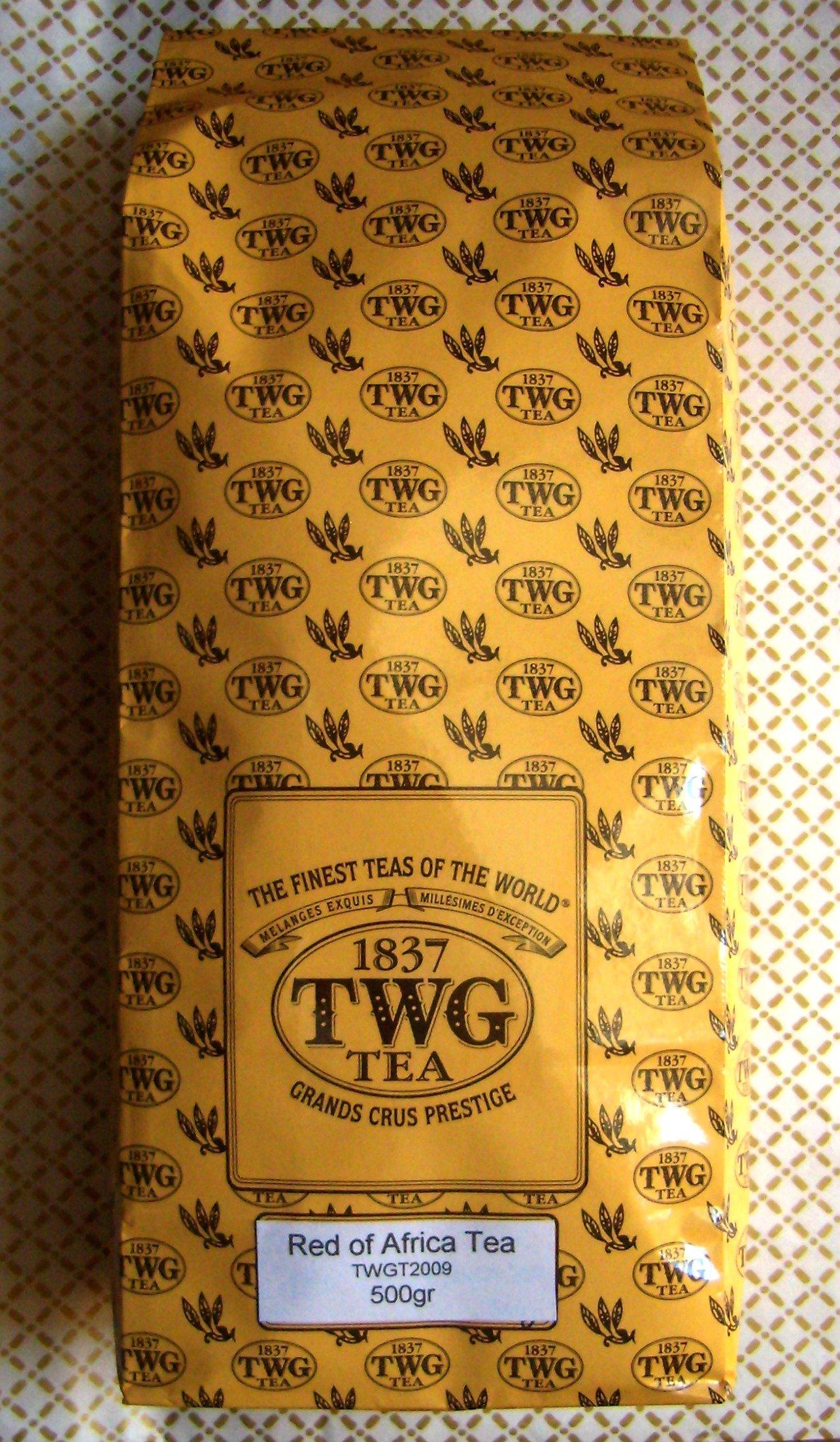 TWG Tea - Red of Africa Tea (TWGT2009) - 17.63oz / 500gr Loose Leaf BULK BAG