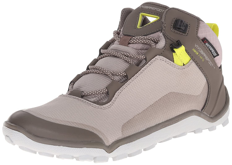 Vivobarefoot Women's Hiker Hiking Boot B00STUT87O 5 US/5-5.5 M US|Grey